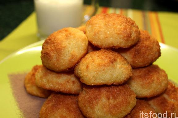 Кокосовое печенье в домашних условиях