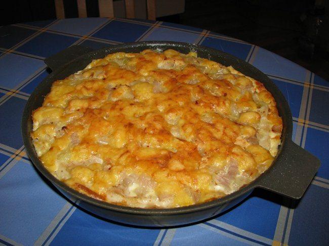 Запеканка рыбная в духовке без картошки рецепт