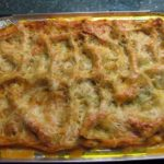 Лазанья из куриной грудки с томатным соусом