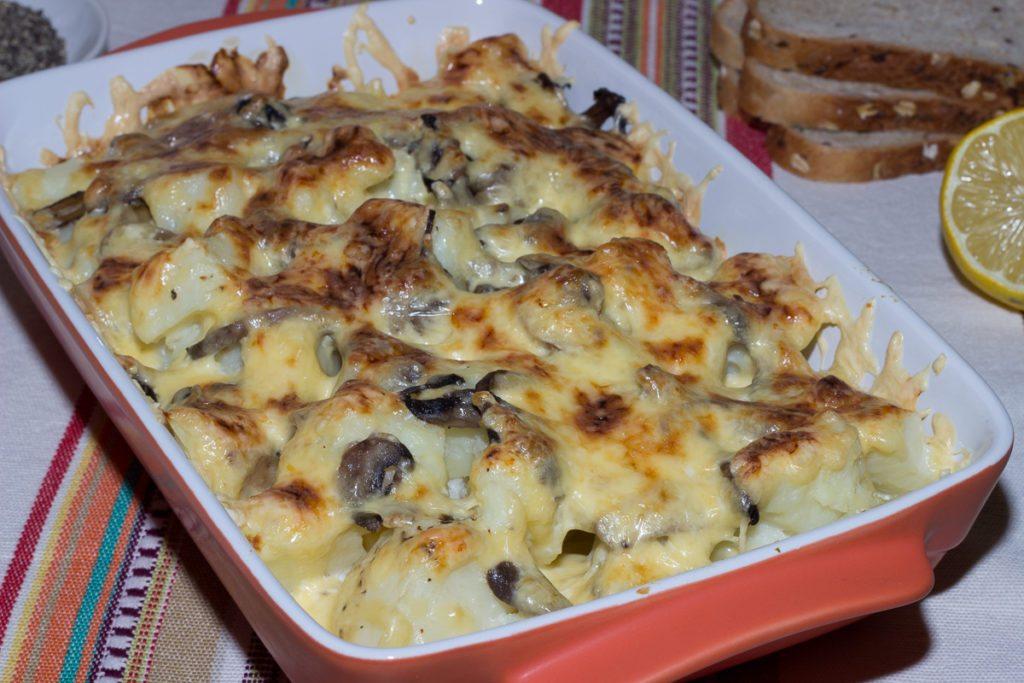 Жульен с курицей и грибами в духовке в форме рецепт с пошагово