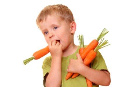 Морковка стимулирует рост