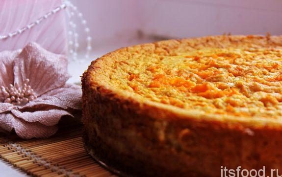 Морковная запеканка в духовке  - рецепт