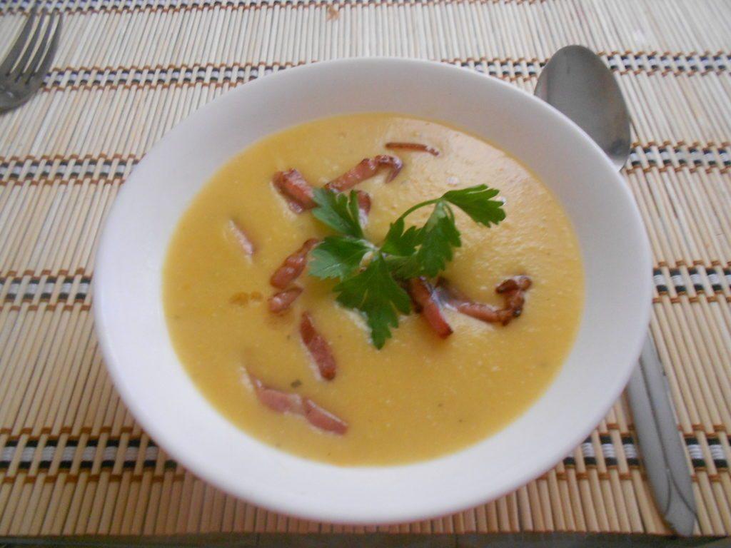Гороховый крем-суп с копченостями рецепт пошагово