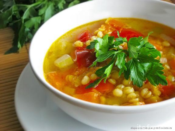 Гороховый суп классический