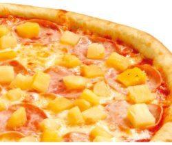 Гавайская пицца с ананасами - рецепт с фото