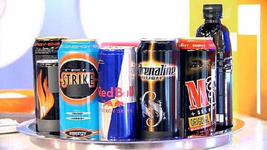 Подростки предпочитают энергетики и кофеин