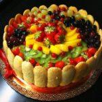"""Торт """"Клубника со сливками"""" - рецепт с фото"""
