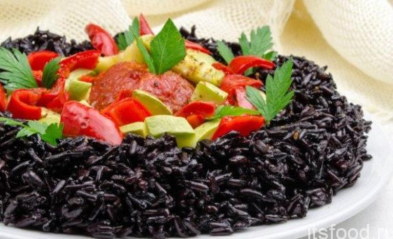 Самый полезный рис - чёрный