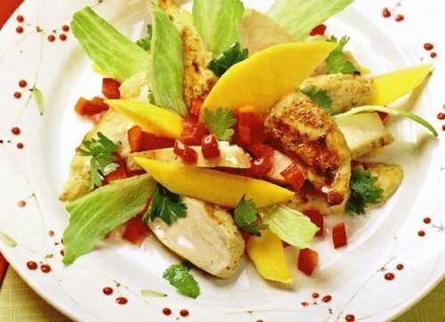 Салат с манго: пошаговый рецепт