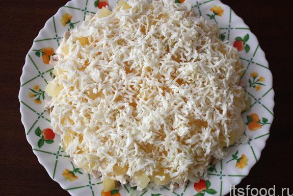 Салат с курицей и кукурузой - рецепт