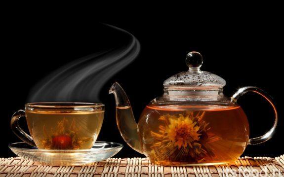 Цветочный аромат чая