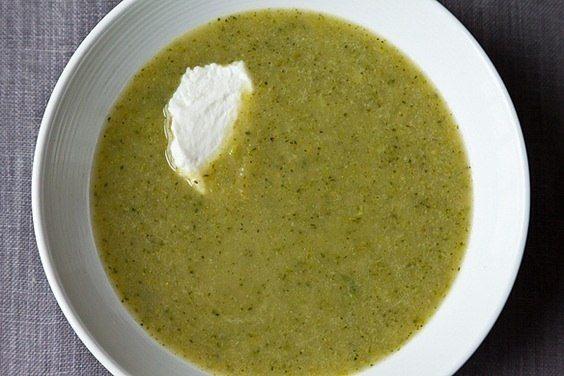 Зеленый крем-супчик