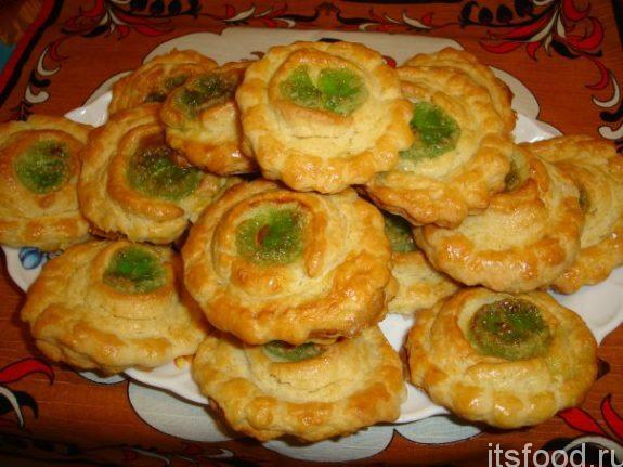 Самый простой рецепт печенья «Лакомка»