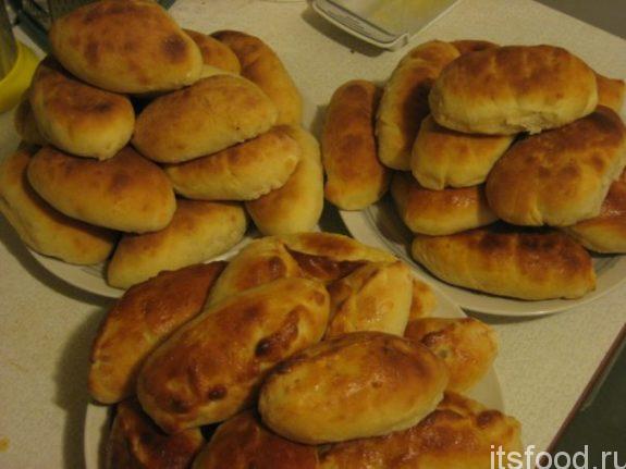 Пирожки с луком