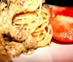 Грибная паста - рецепт