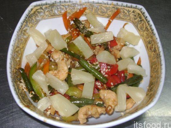 """Салат """"Восточный"""" - классический рецепт"""