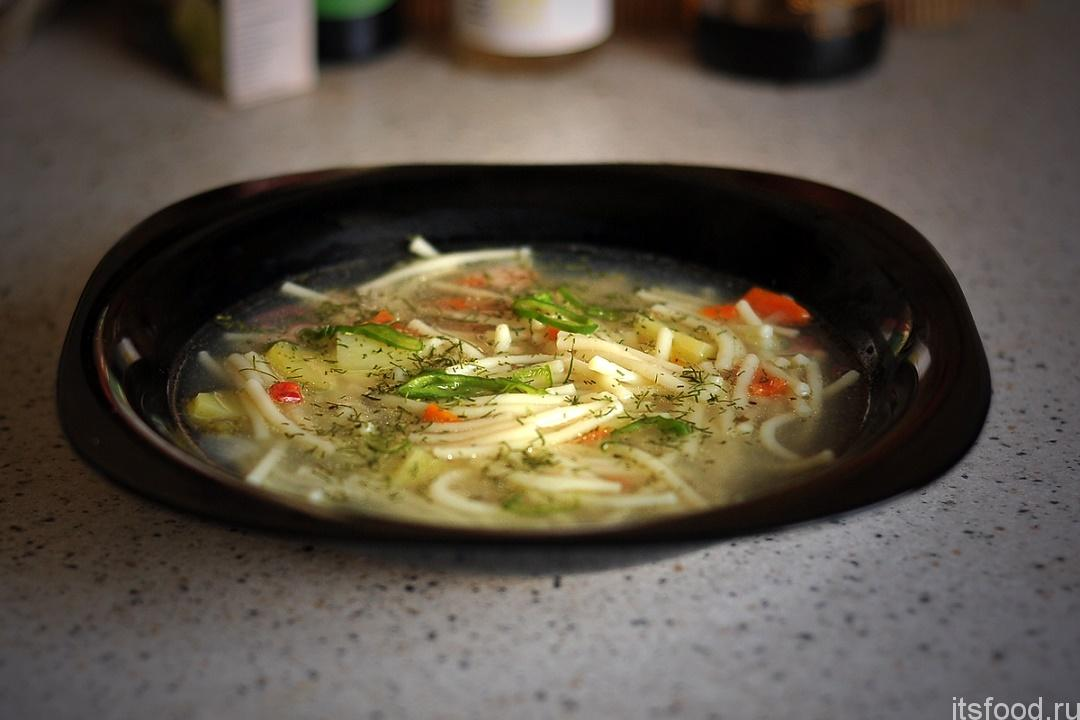 Рецепт куриного супа с голени