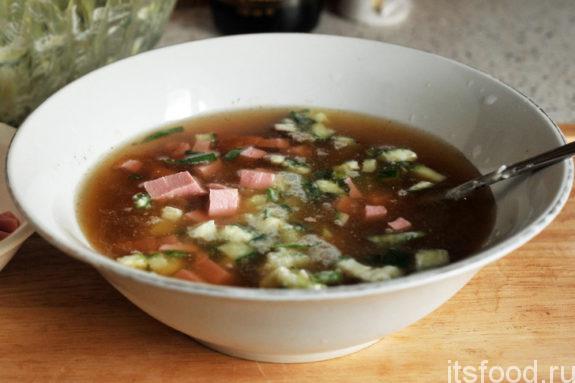 Как готовить окрошку