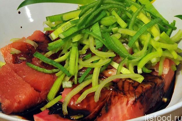 рыба по корейски рецепт приготовления из красной рыбы