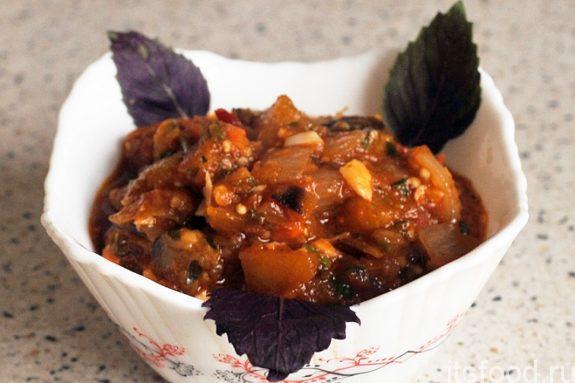 Овощное рагу с баклажанами: рецепт с фото