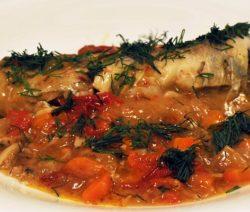 Рыба в томате – рецепт