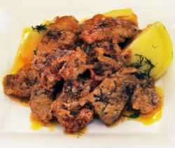 Как приготовить бефстроганов из свинины