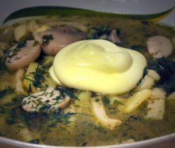 Суп из гуся с лапшой - рецепт