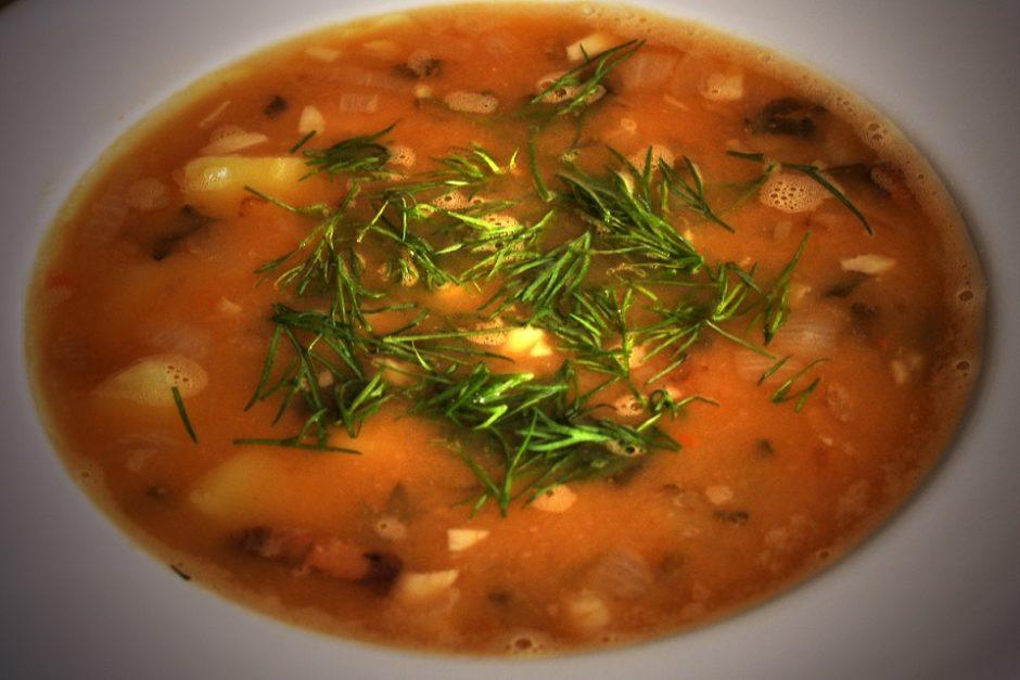 гороховый суп рецепт классический с фото свинина
