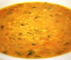 Гороховый суп-пюре: рецепт с фото