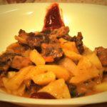 Картошка с мясом в рукаве в духовке