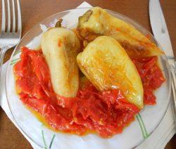 Жареный перец – рецепт