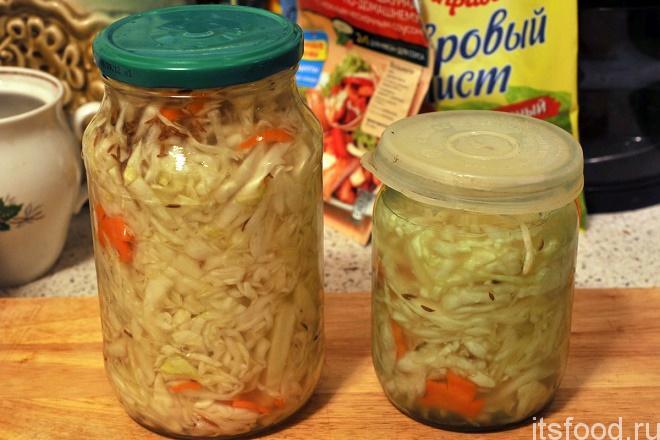 Как солить капусту быстро рецепт 167