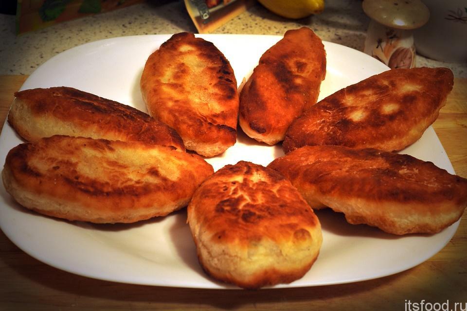 Рецепт жареных пирожков быстрый