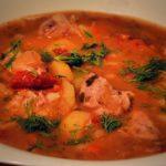 Как приготовить томатный суп с горохом