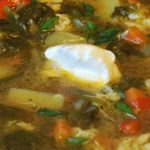 Суп со шпинатом – рецепт