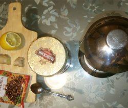 Имбирный чай с лимоном и гвоздикой
