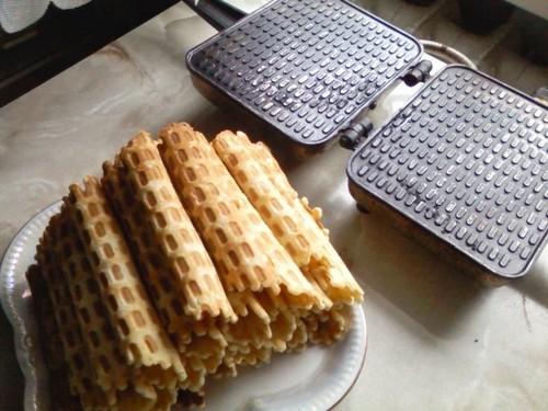 5 рецептов вафель в домашних условиях