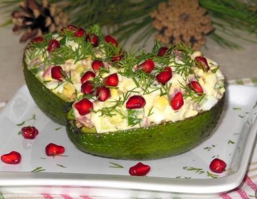 4 оригинальные новогодние вариации «Крабового» салата