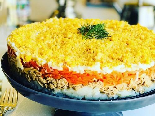 6 тонкостей в приготовлении салата «Мимоза»