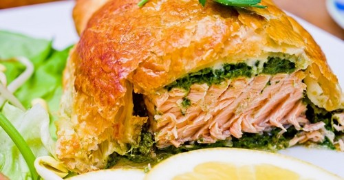 3 элементарных рецепта пирога с рыбой