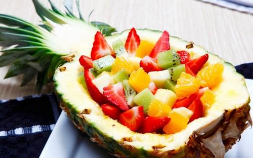 4 вкусных фруктовых салата для иммунитета