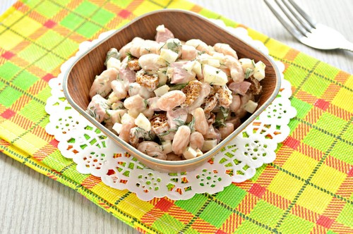 5 рецептов простых салатов из трех ингредиентов