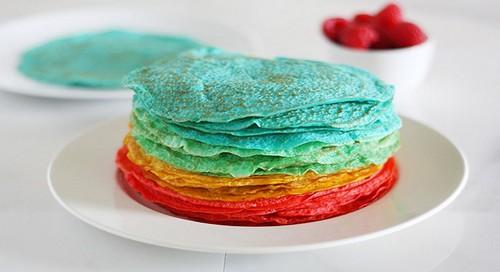 Разноцветные блины без искусственных красителей – 3 рецепта