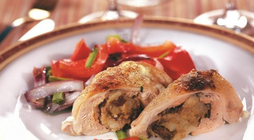 Фаршированные куриные окорочка без кости – базовый рецепт и 3 варианта начинки