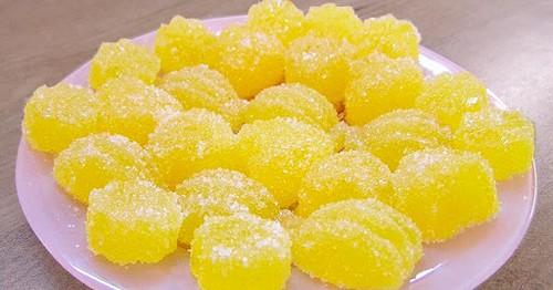 3 простых рецепта лимонного мармелада