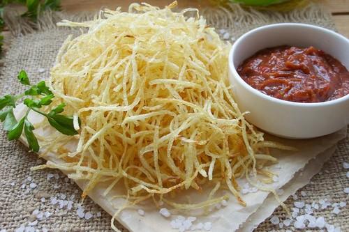 Картофель пай – рецепт закуски, в чем отличия от фри