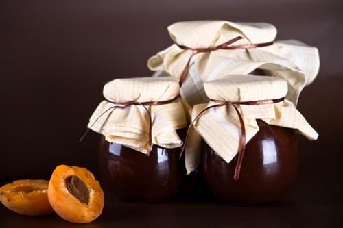 абрикосовое варенье с шоколадом