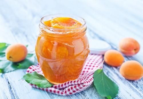 абрикосовое варенье дольками с желатином