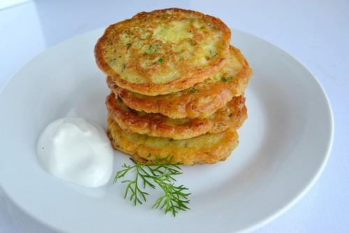 Оладьи из кабачков классический рецепт