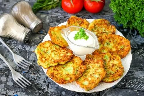 Драники из кабачков – 3 вкусных рецепта